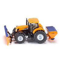 Siku - Tractor with Ploughing Plate & Salt Spreader